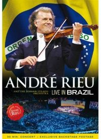 Cover André Rieu & The Johann Strauss Orchestra - Live In Brazil [DVD]